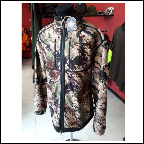 SHOOTERKING Digitex Softshell Wendejacke