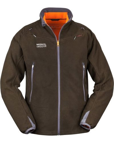 Merkel Gear Wendejacke HELIX Fleece Reversible