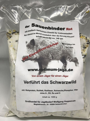 "Optimum ""Der Sauenbinder"" Lockmittel 1kg"